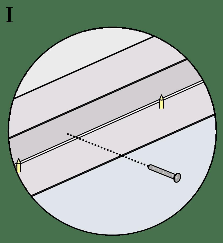 Gyproc fribärande undertak med GFR Förstärkningsreglar - Montering av kantskenor