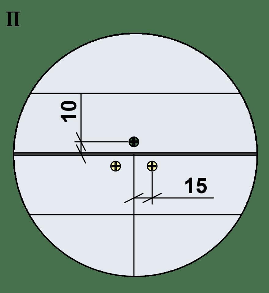Nedpendlat undertak med Gyproc GK system i en nivå - Montering av skruvar, kantavstånd