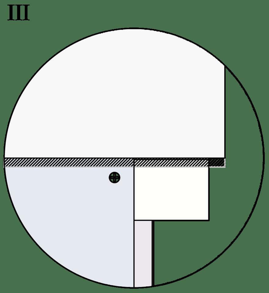 Nedpendlat undertak med Gyproc GK system i en nivå - Fogning och ytbehandling