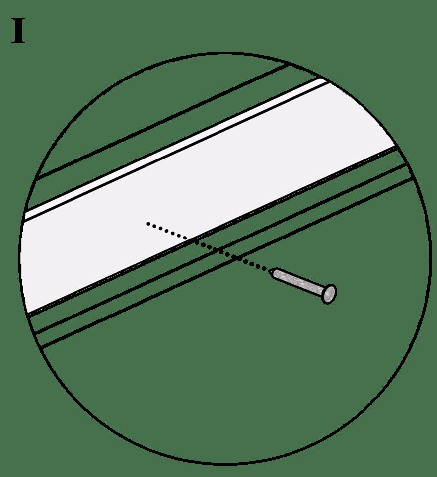 Nedpendlat Gyproc PS standardundertak med stålprofiler - Montering av kantskenor