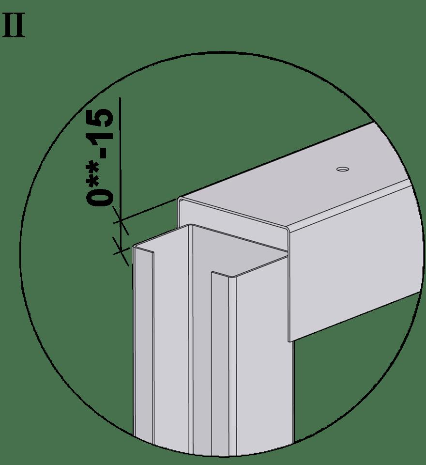 Innerväggar med Gyproc DUROnomic förstärkningsreglar c 450 - Montering av förstärkningsreglar