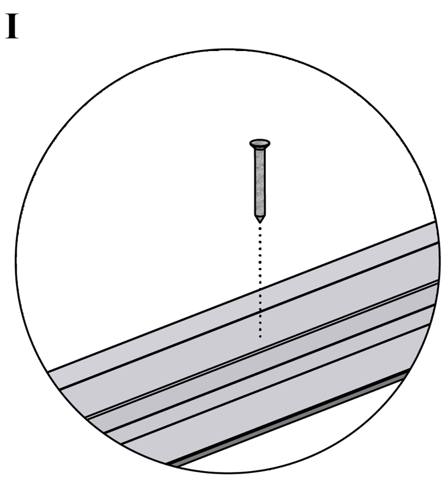 Innerväggar med Gyproc standardstålstomme c 450 - Montering av skenor