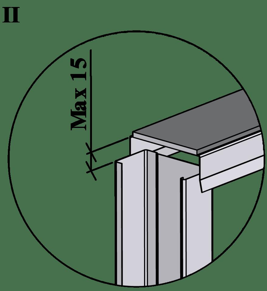 Innerväggar med Gyproc standardstålstomme c 600 - Montering av reglar