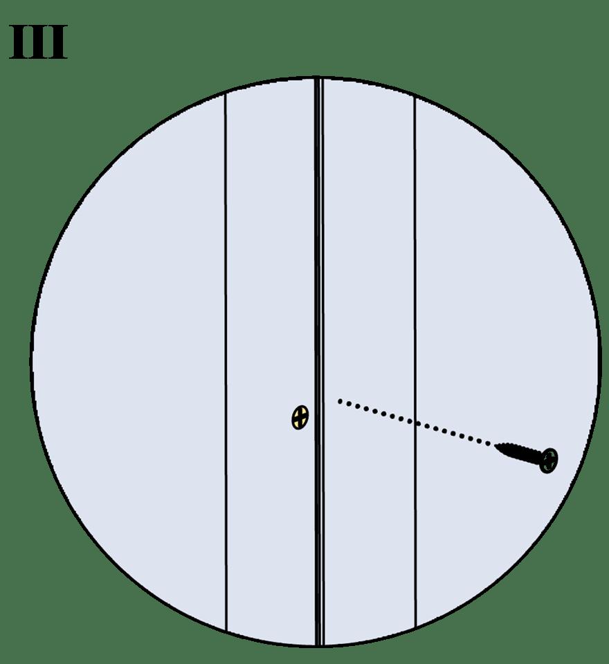 Innerväggar med Gyproc standardstålstomme c 600 - Montering av gipsskivor, första lag