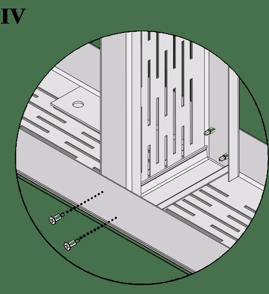 Wall-THZ-600E-NN-B-Sammanfogning av skenor och reglar