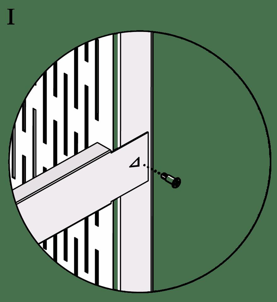 Wall-THZ-600E-NN-B-Montering av kortlingsprofil