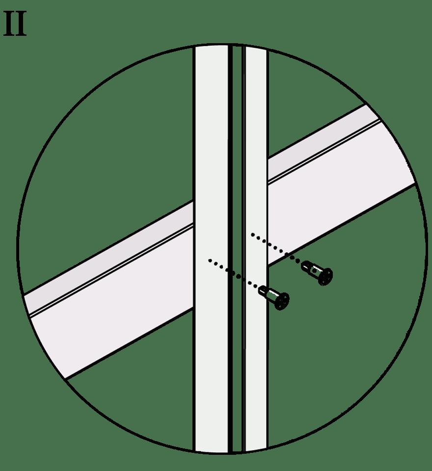 Wall-THZ-600E-NN-B-Montering av T-kortling mot kortlingsprofil