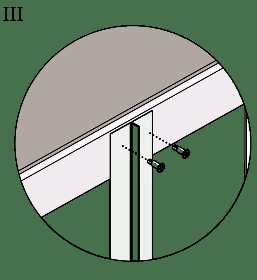 Wall-THZ-600E-NN-B-Montering av T-kortling mot skenor