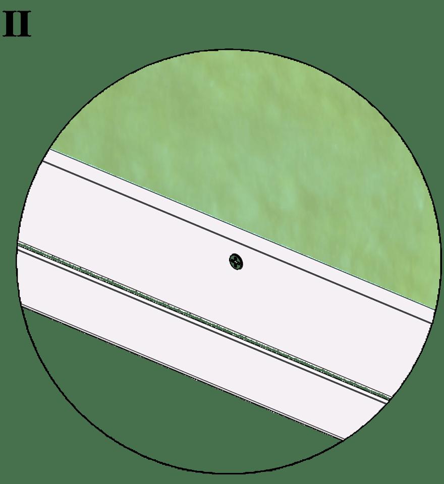 Wall-THZ-600E-NN-B-Montering av kantprofil mot skenor