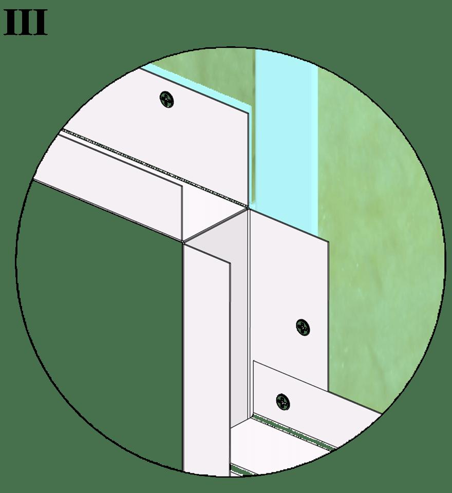 Wall-THZ-600E-NN-B-Montering av profiler runt fönster