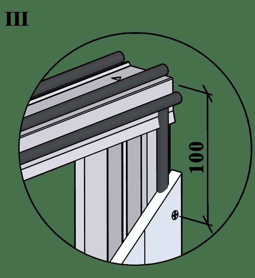 Gyproc XR innerväggar med hög ljudreduktion, c 450 - Montering av gipsskivor, första lag