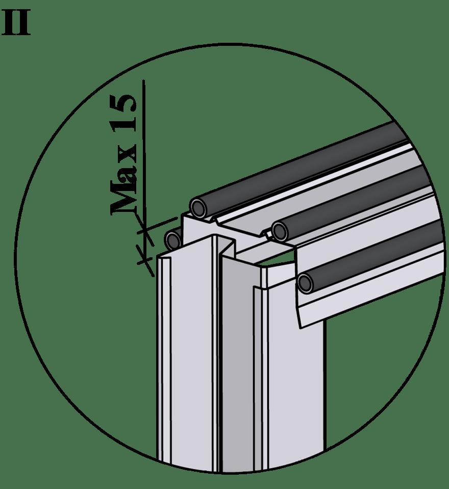 Gyproc XR innerväggar med hög ljudreduktion, c 600 - Montering av reglar