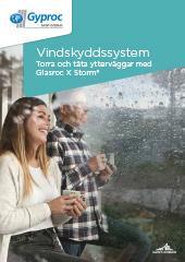 Torra och täta ytterväggar med Glasroc X Storm Vindskyddssystem