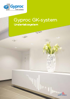Gyproc GK-system Undertakssystem