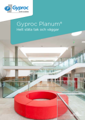 Gyproc Planum - helt släta tak och väggar