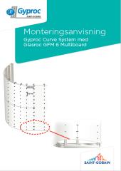 Monteringsanvisning för Glasroc  GFM 6 Multiboard