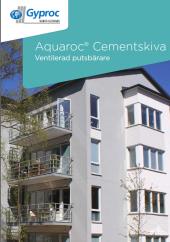 Aquaroc Cementskiva - ventilerad putsbärare