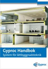 Gyproc Handbok – system för lättbyggnadsteknik (bläddra i den digitala versionen)