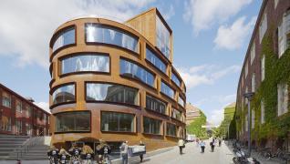 Arkitekturskolan Stockholm med Gyprocs väggsystem