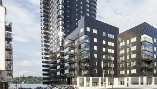 Årets Stockholmsbyggnad 2015 Kajen 4 - med Gyproc lättbyggnadssystem