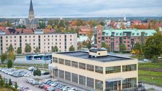 Örebro Universitetssjukhus har X-ray protection och Gyproc ErgoLite