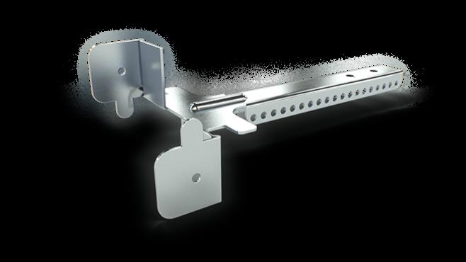 Justerbar upphängning bas - används med GK 27