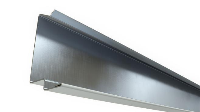 Gyptone Quick-Lock Skuggkantlist til korridorundertak med Plank