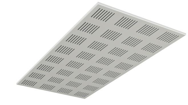 Gyptone Tile Line 4 1200 mm med kant B
