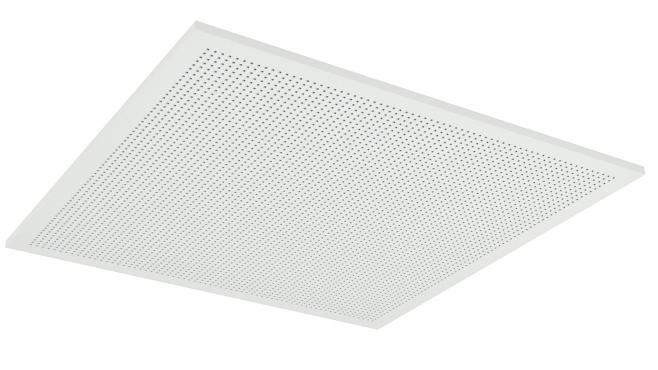 Demonterbar undertaksplatta med kvadratiska hål - Gyptone Tile Quattro 70 med kant A