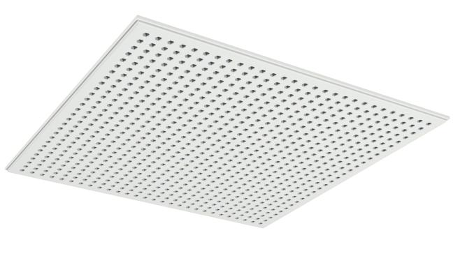 Demonterbar undertaksskiva med hexagonala hål - Gyptone Tile Sixto 60
