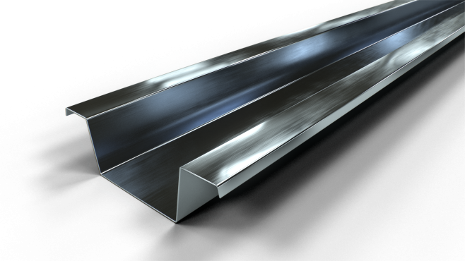 Gyproc S 25/85 Sekundär, höjd 25 mm - takprofil i 0,56 mm tjockt stål