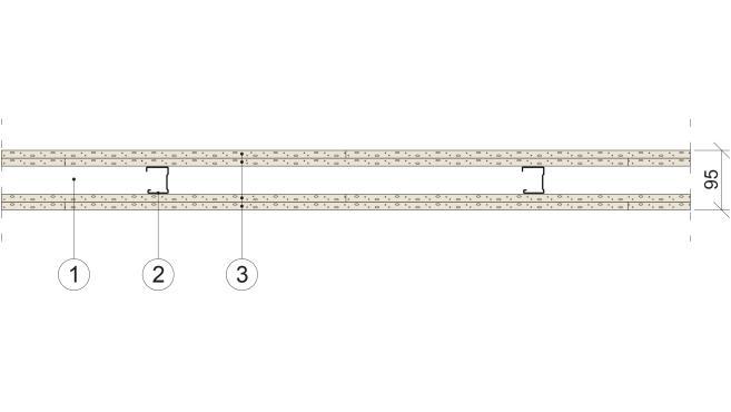 Gyproc GS 45/45 (600) NN-NN M0
