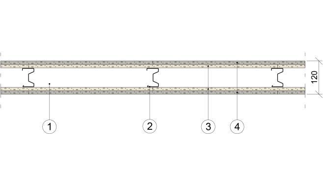 Gyproc XR 70/70 (450) RN-NR M0
