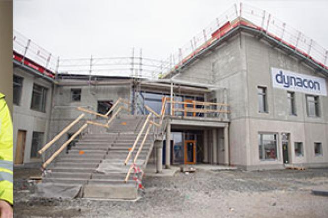 Sveriges största passivhusskola Elmeskolan i Älmhult byggs med system från Gyproc