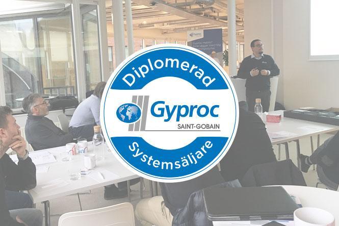 Diplomerad Gyproc Systemsäljare