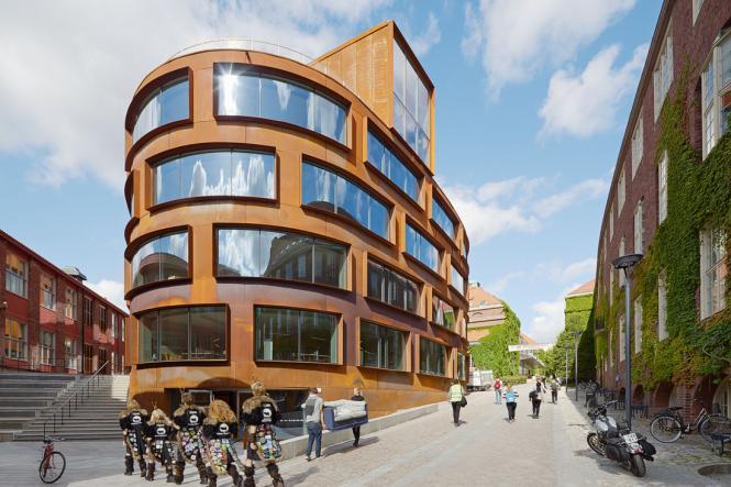 Arkitekturskolan representerar Gyproc Sverige i internationell tävling