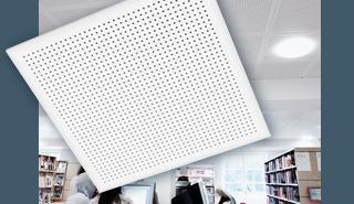 Akustikplattor som skapar rum med god ljudmiljö