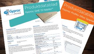 Gyproc produktdatablad