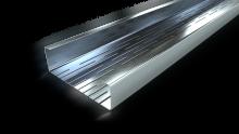 Ytterväggsprofiler, t.ex. slitsade stålreglar för ytterväggar