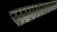 Fasadprofiler, t.ex. stålprofiler för fasader