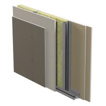 Innervägg med hög ljudreduktion Gyproc XR c 450 med Gyproc Protect F