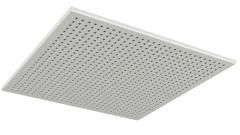 Skruvmonterad undertaksplatta med hexagonala hål - Gyptone Tile Sixto 60 med kant B